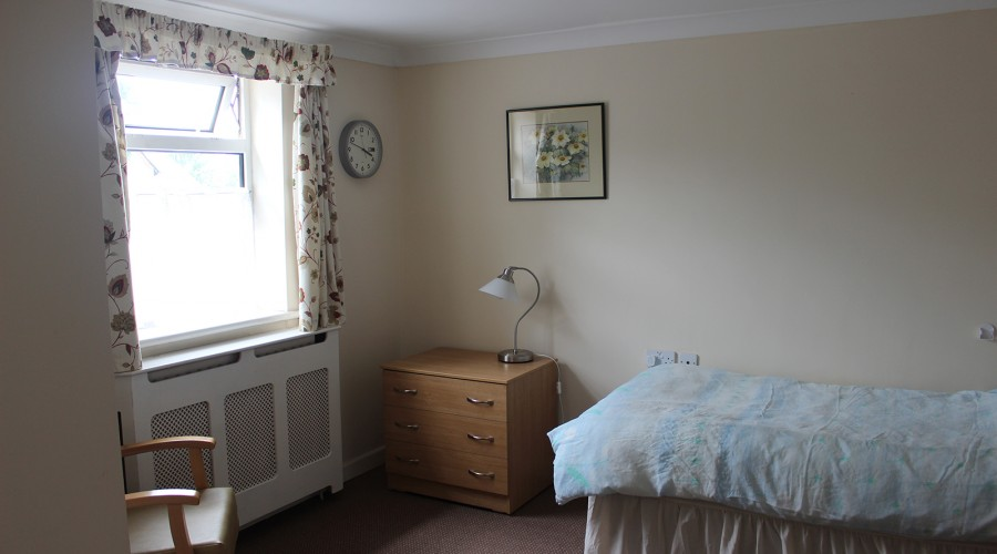 St Lawrence's Lodge - Resident Bedroom